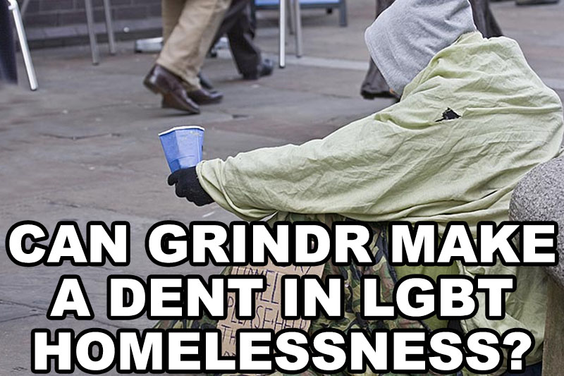 Can Grindr Make a Dent in LGBT Homelessness?