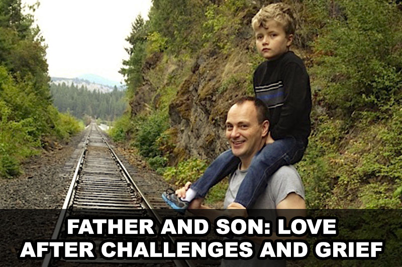 Father and Son: Love After Challenges and Grief