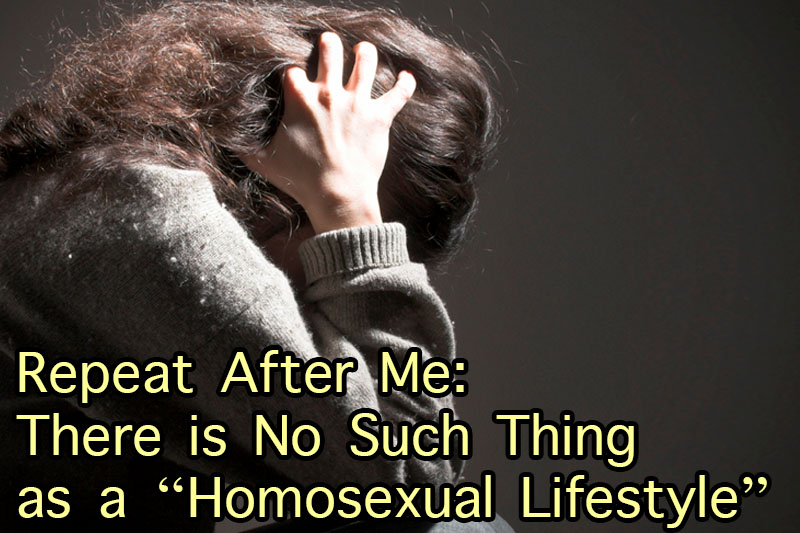 there is no freedom in gay lifestyle